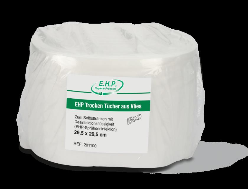 EHP Trocken Tücher aus Vlies Eco 4 Rollen