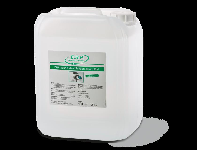 EHP Schnelldesinfektion Alkoholfrei 10 Liter Kanister