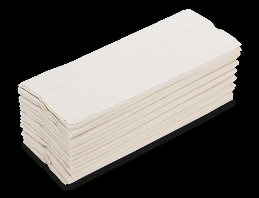 Papierhandtücher 2-lagig Hochweiß Groß, Karton a 2.880 Stück