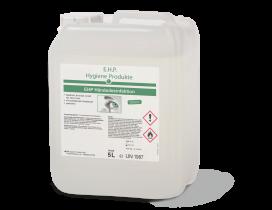 EHP Händedesinfektion 5 Liter Kanister , Viruzid und zertifiziert Hautfreundlich, Biozid, DGHM/VAG gelistet