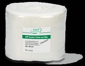 EHP Trocken Tücher aus Vlies Premium 1 Karton mit 6 Rollen