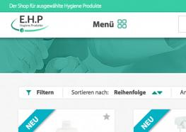 Neue Shopfunktion: Produktfilter